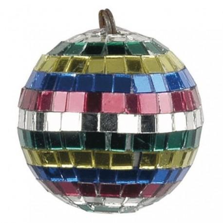 Showtec. Bola de espejo multicolor 5cm