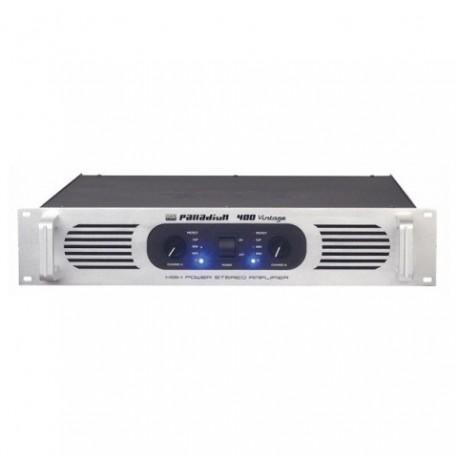 DAP-Audio P-400 Etapa de potencia estéreo, negra
