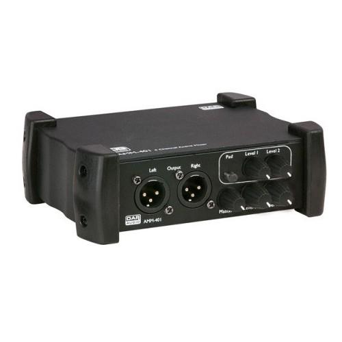 DAP-Audio.  AMM-401 Mesa de mezclas activa de 4 canales.