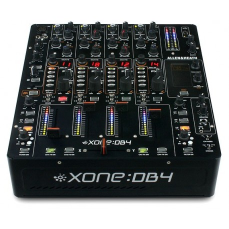 Allen Heath Xone DB4 mesa de mezclas DJ Pro con FX