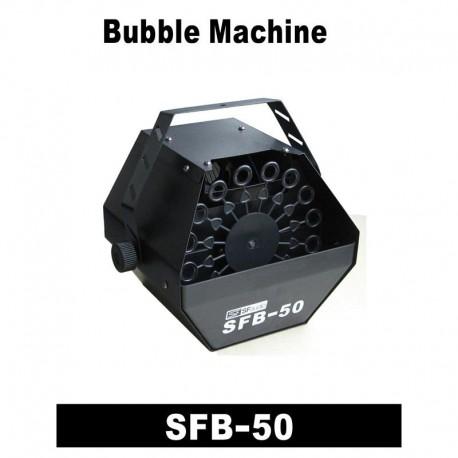 SFAUDIO Máquina de Burbujas SFB50