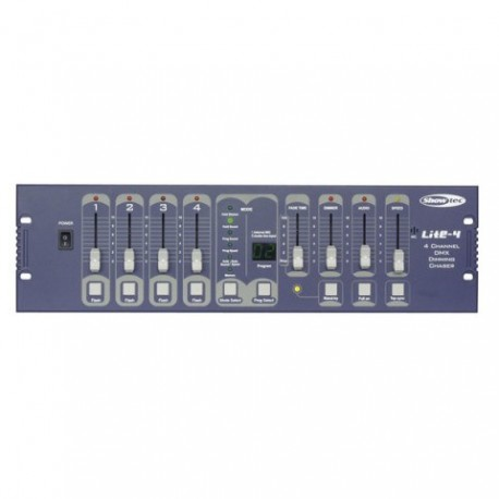 Showtec. Lite-4 Controlador DMX