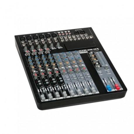 DAP-Audio GIG-124C Mesa de mezclas de 12 canales