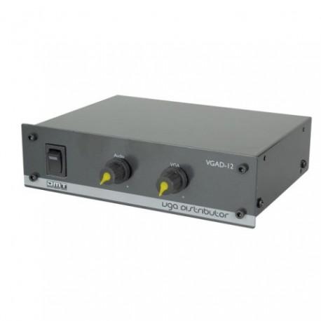 DMT VGAD-12 Amplificador distribuidor de VGA/audio 1:2