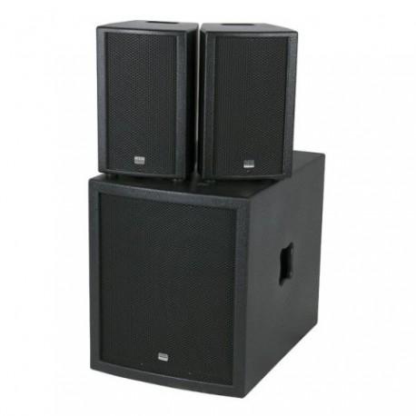 """DAP-Audio. Club Mate II Juego de altavoces activos compacto de 15"""""""