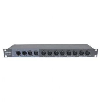 Showtec DB-1-4 Splitter 4 canales. Distribuidor de señal.