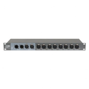 Showtec DB-1-8 Splitter dmx 8 canales. Distribuidor de señal.