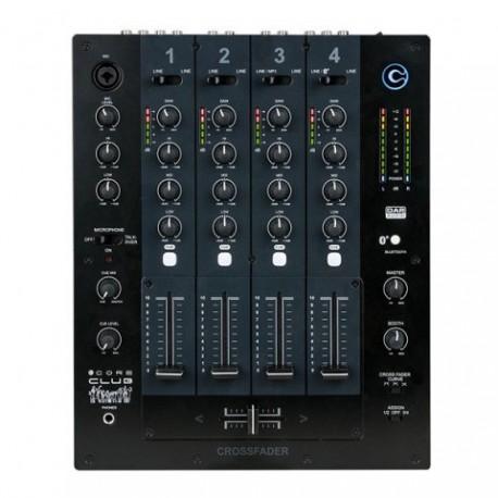 DAP-Audio CORE Club Mesa de mezclas de 4 canales para DJ