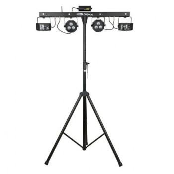 Showtec QFX Juego de iluminación compacto con múltiples efectos