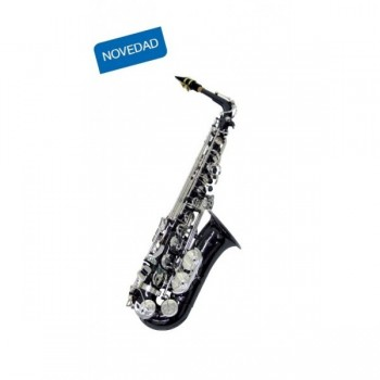 j. michael BPAL1200BS saxo alto plata y negro