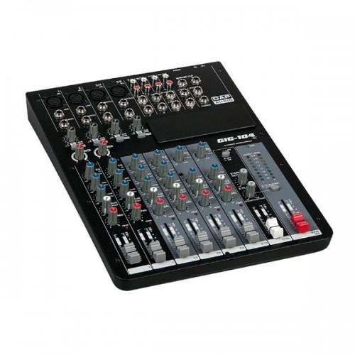 DAP-Audio GIG-104C Mesa de mezclas