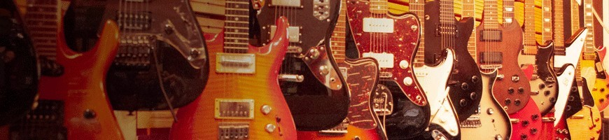 guitarras eléctricas y amplificadores